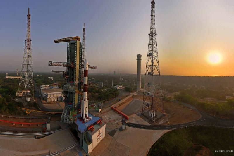 ISRO launch PSLV-C45
