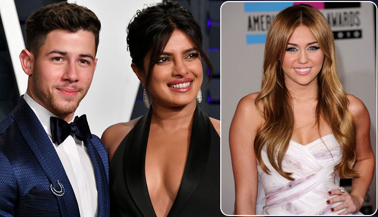 Priyanka Chopra Reacts Nick Jonas ex Miley Cyrus Old chat