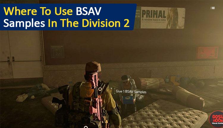 BSAV Samples Division 2