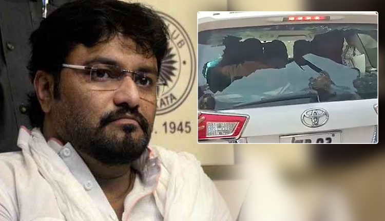Babul Supriyo car attack elections 2019
