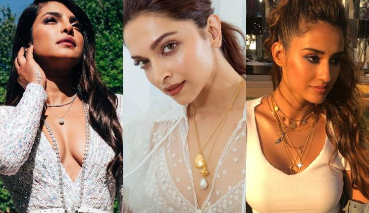 90s trend of stacked and layered necklaces make a comeback