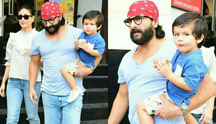 taimur ice cream outing parents pics