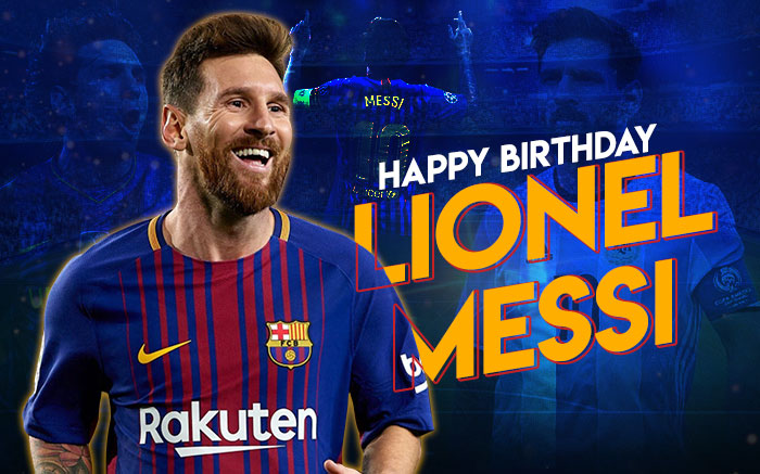 Messi Birthday Wallpaper 2020