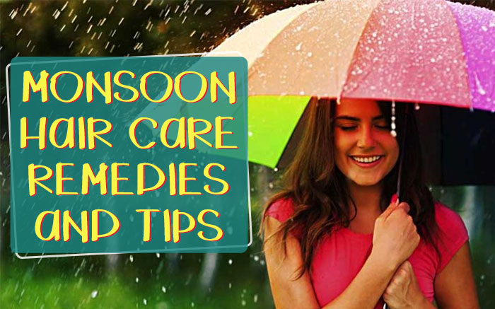 Monsoon hair care remedies and tips