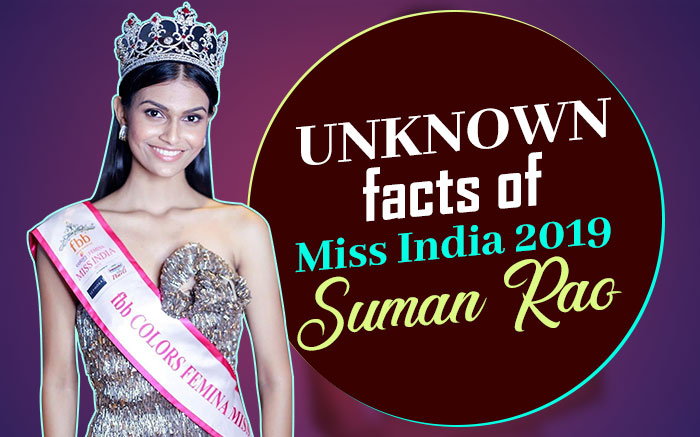 Sumao Rao Miss India 2019 Winner Unknown Facts