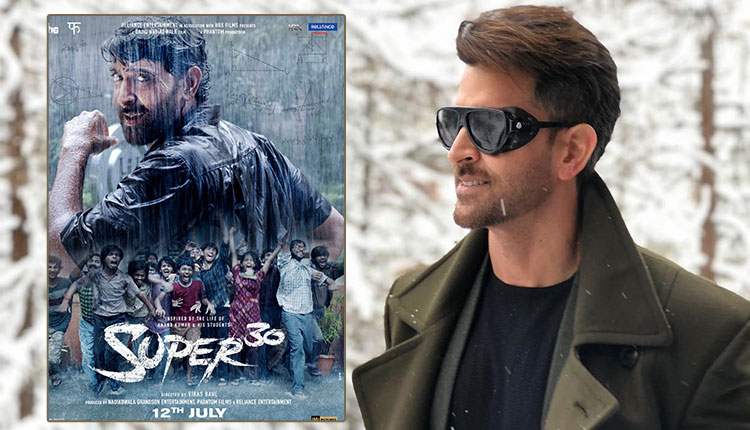 Super 30: Hrithik Roshan starrer poster sets the right note