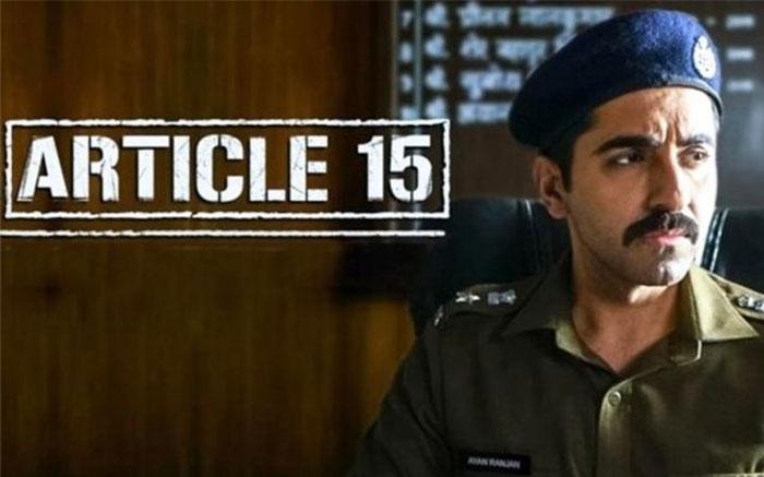 Article 15 Film Banned Uttarakhand