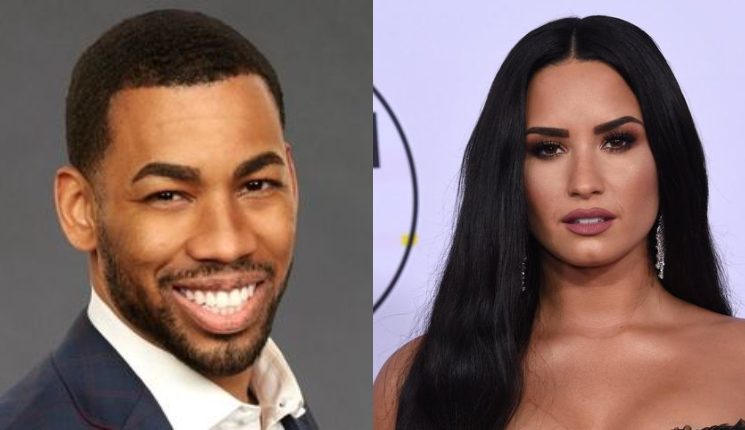 Did Hannah Brown set up Demi Lovato and The Bachelorette star Mike Johnson?