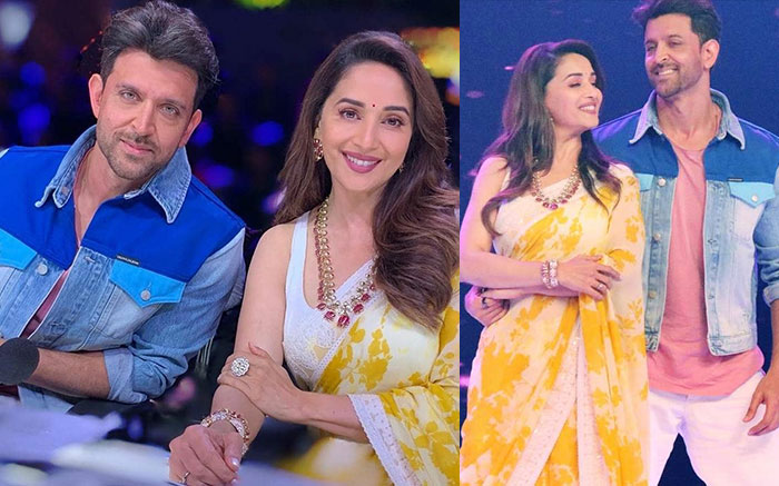 Dance Dewaane 2: Hrithik Roshan And Madhuri Dixit Groove to