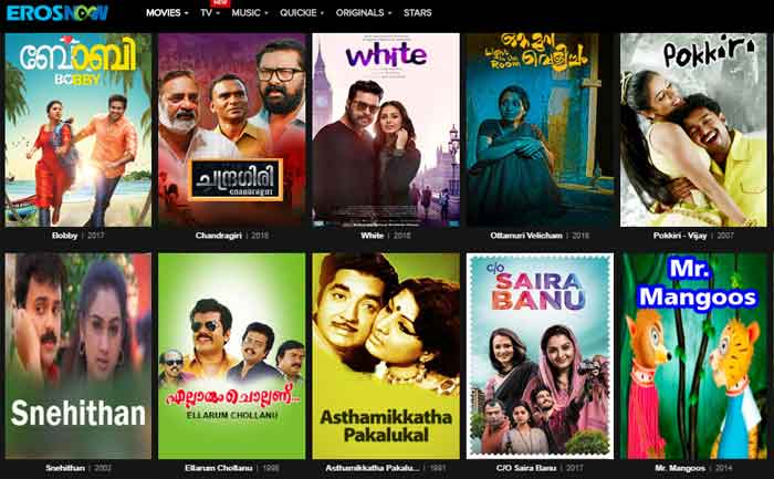 Free Malayalam Movies Download Website List