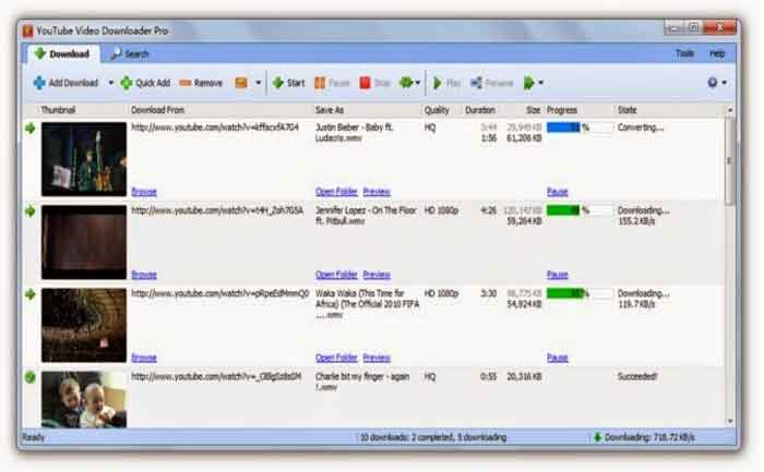 15 Best & Free YouTube Downloader For Windows 7/8/10/XP/Mac