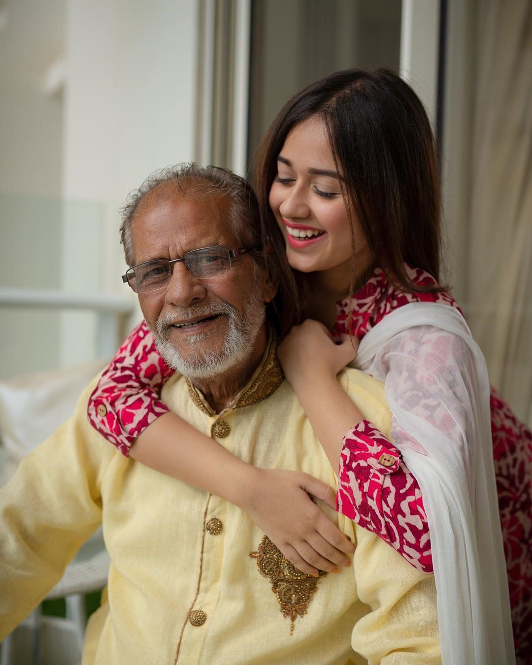 25. Jannat loves her grandparents