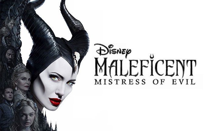 New Poster Of Angelina Jolie S Maleficent Mistress Of Evil