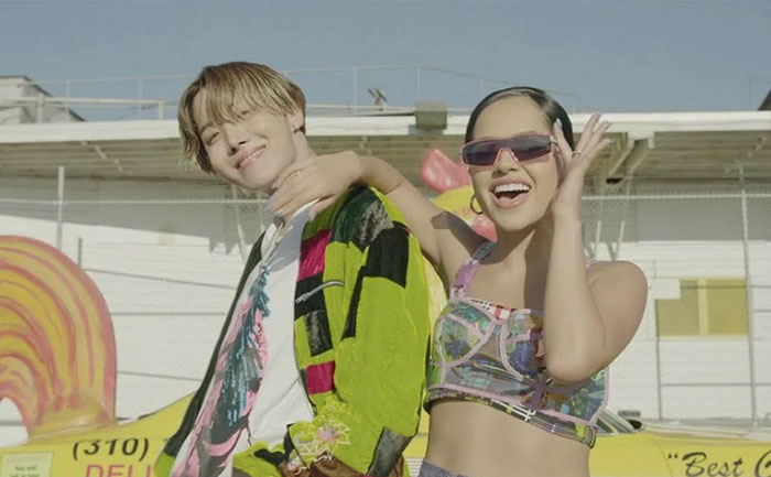 Chicken Noodle Soup: BTS' J-Hope and Becky G drop a new single, Watch