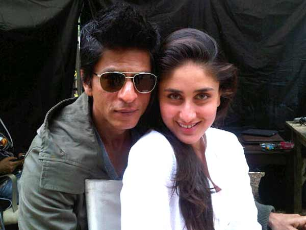 Kareena and SRK come together for a pic