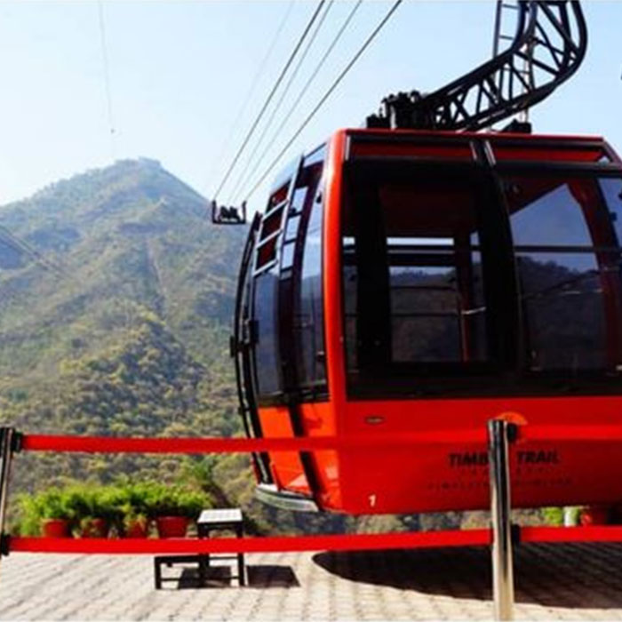 Timber Trail: Bliss in the ropeway ride