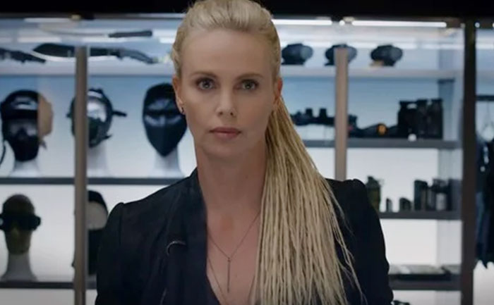 fast furious 9 charlize theron look