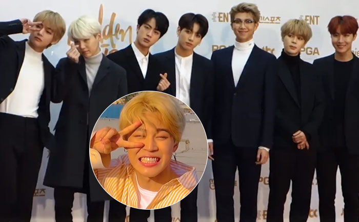 Bts Band Members Surprise Jimin On His 24th Birthday