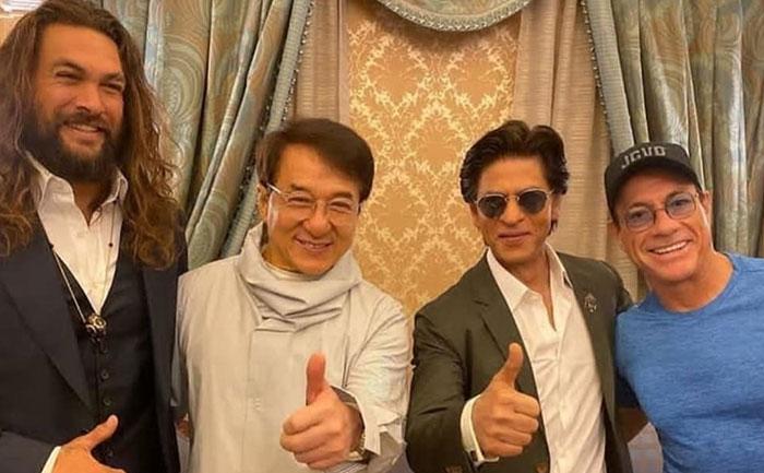 SRK jackie jason jean photo