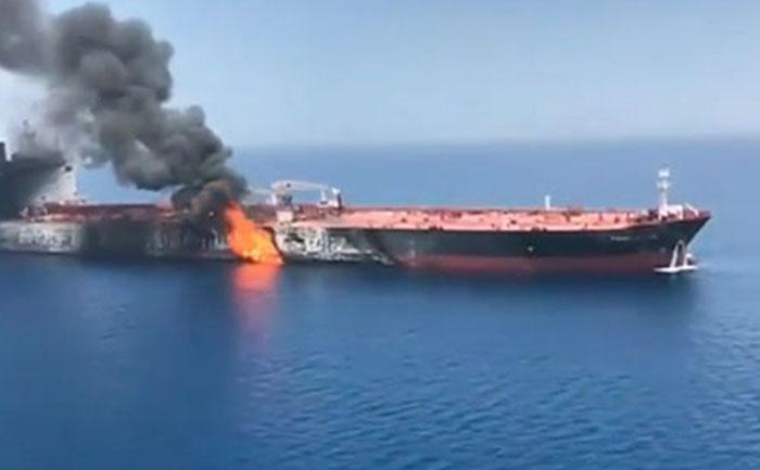 iran tanker missile attack