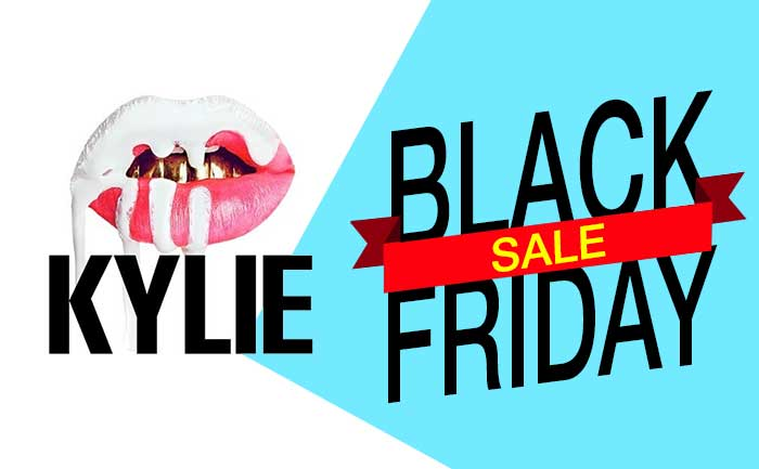 Kylie cosmetics black friday sale