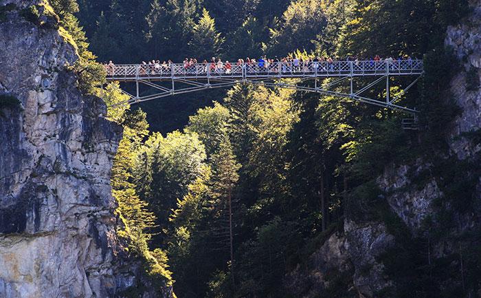 Marienbrucke Germany world's dangerous bridge