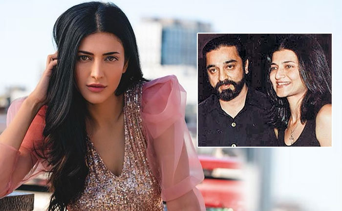 shruti haasan reacts on parents divorce