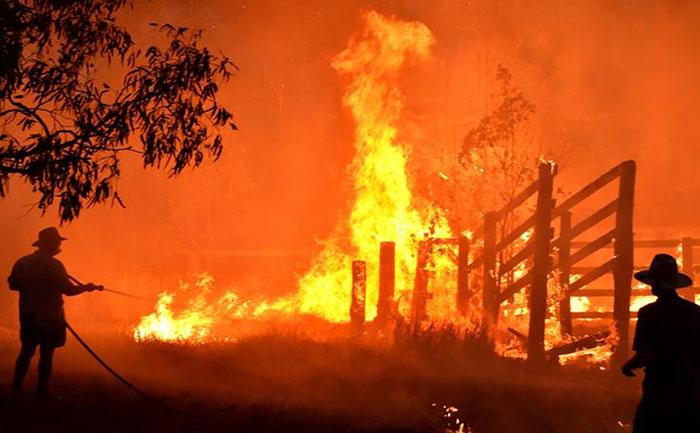 austrailia bushfire danger for sydney