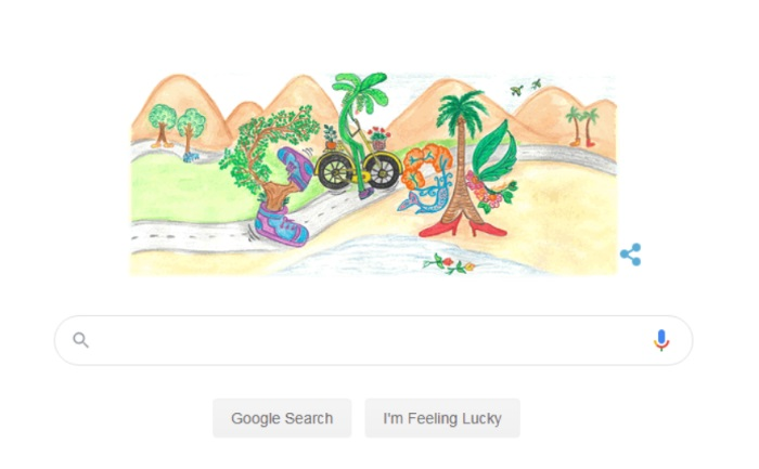 google celebrates children's day with doodle