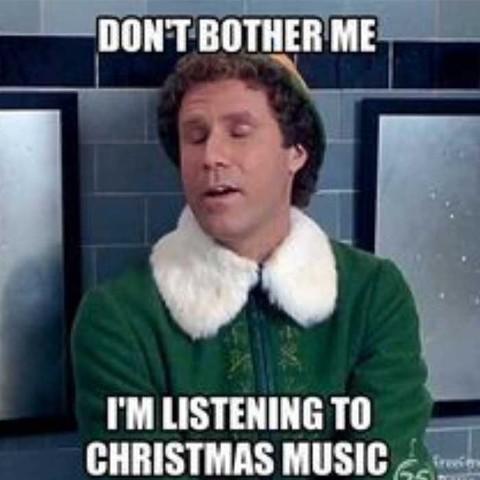 Christmas is all about music