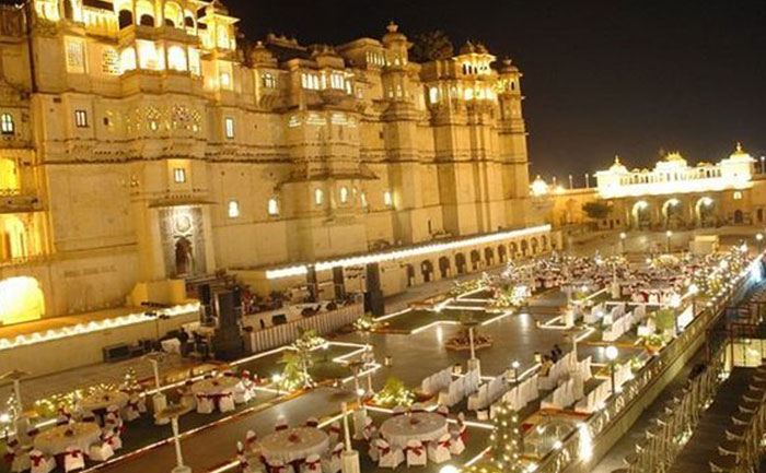City Palace Udaipur beautiful wedding destinations in India
