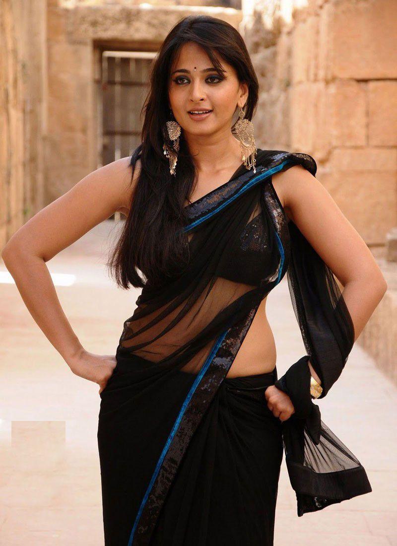 Anushka Shetty Hot Saree Looks