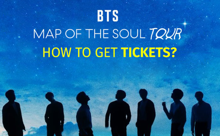 BTS Map Of The Soul Book Tickets