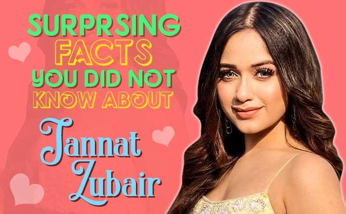 Jannat Zubair Rahmani Facts