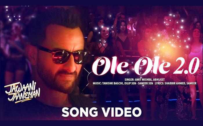 Jawaani Jaaneman Song Ole Ole 2.0: Saif Ali Khan is all set to take you to the '90s