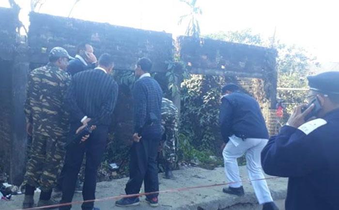 bomb blast assam republic day