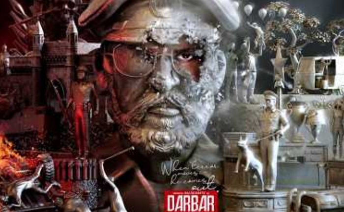 darbar motion poster out