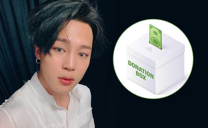 BTS Jimin donates 1200 table chairs
