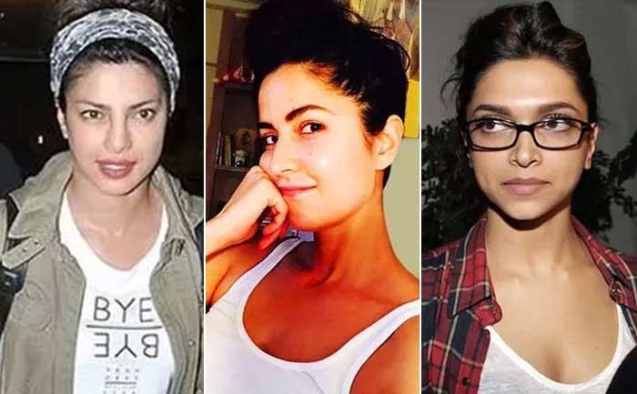 Bollywood Actresses Without Makeup Photos