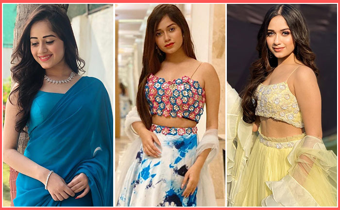 jannat zubair traditional outfit photos