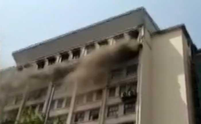 Mumbai GST Building Fire News