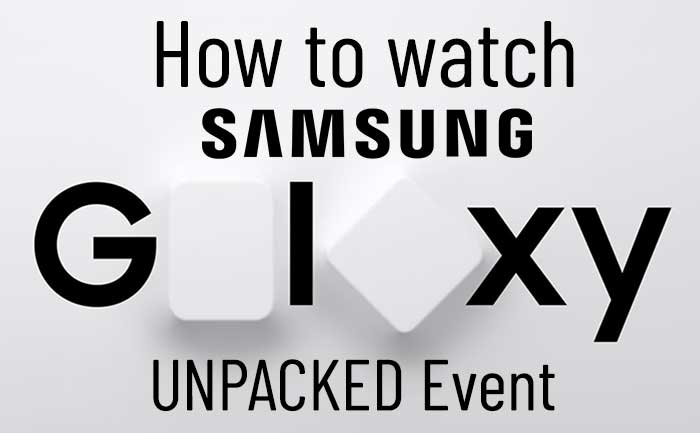 Samsung Unpacked Event TLM