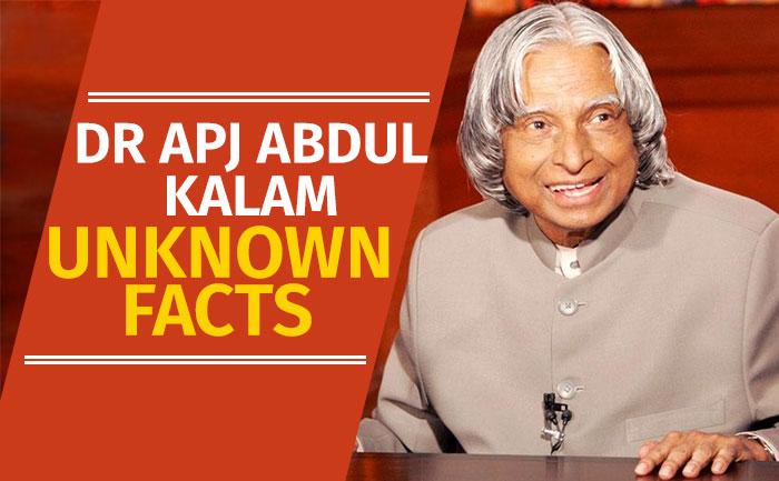 Unknown APJ Abdul Kalam Facts