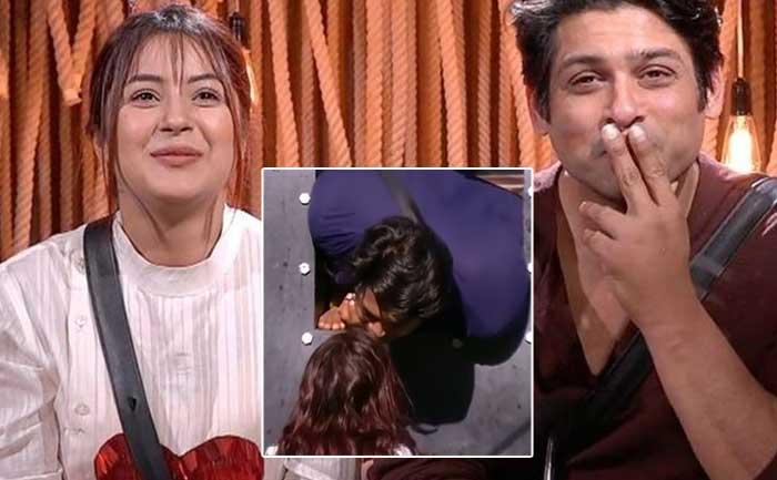 bb13 sidharth kiss shehnaaz