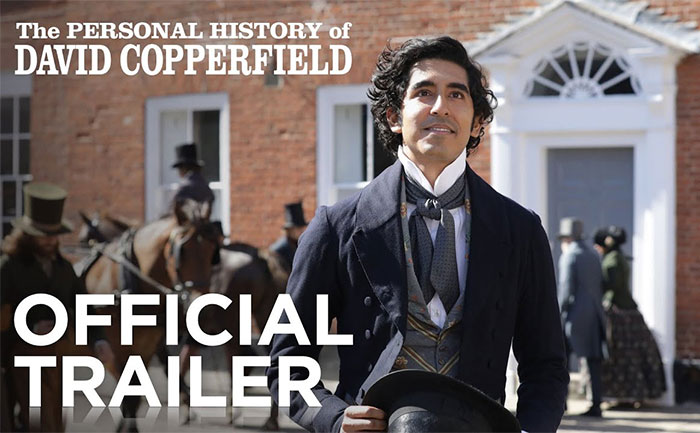 personal history of david copperfield trailer out
