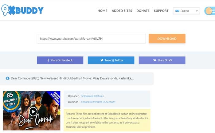 How To Download Online Videos & Movies With 9xbuddy
