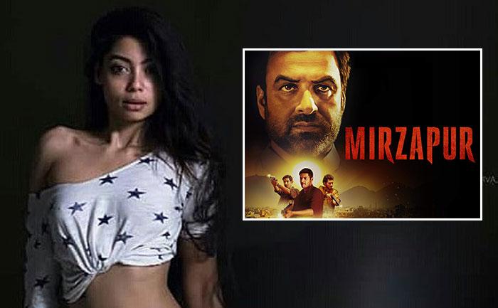 Anangsha Biswas on Mirzapur Season 2