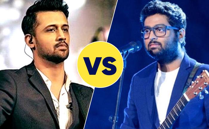 Who is the best singer, Arijit Singh Vs Atif Aslam?