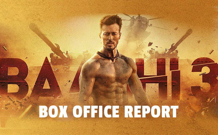 baaghi 3 bo collection day 1
