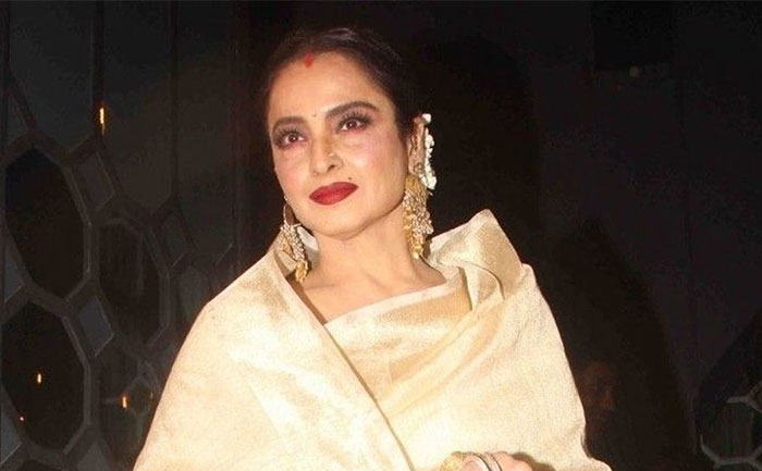 THIS Actor Forcibly Kissed On Rekha's Lip